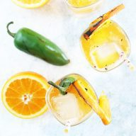 Grilled Jalapeno Orange Shandy