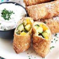 Grilled Vegetable Egg Rolls