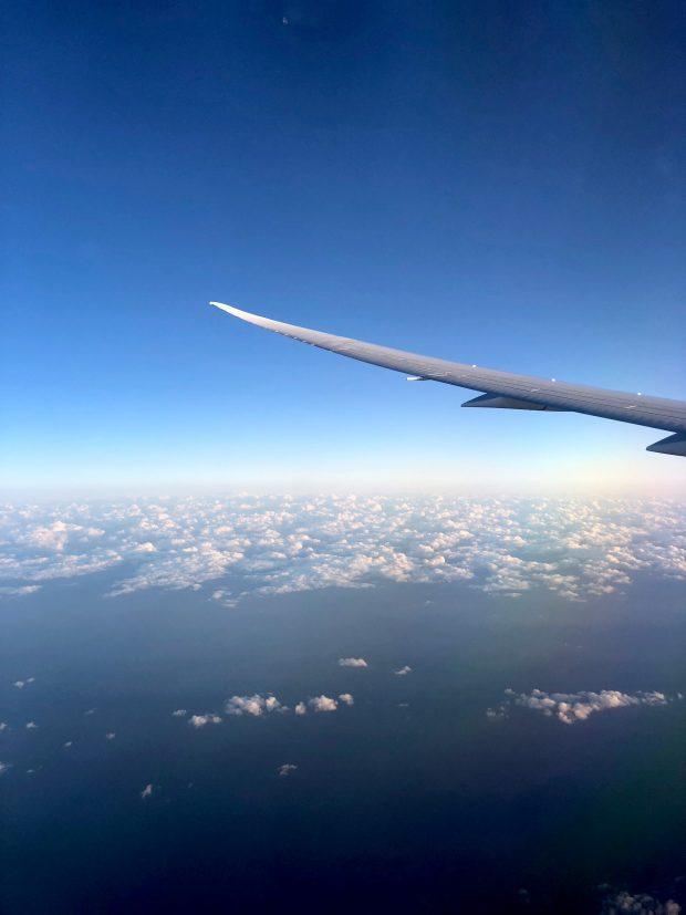 Plane Ride to Tokyo