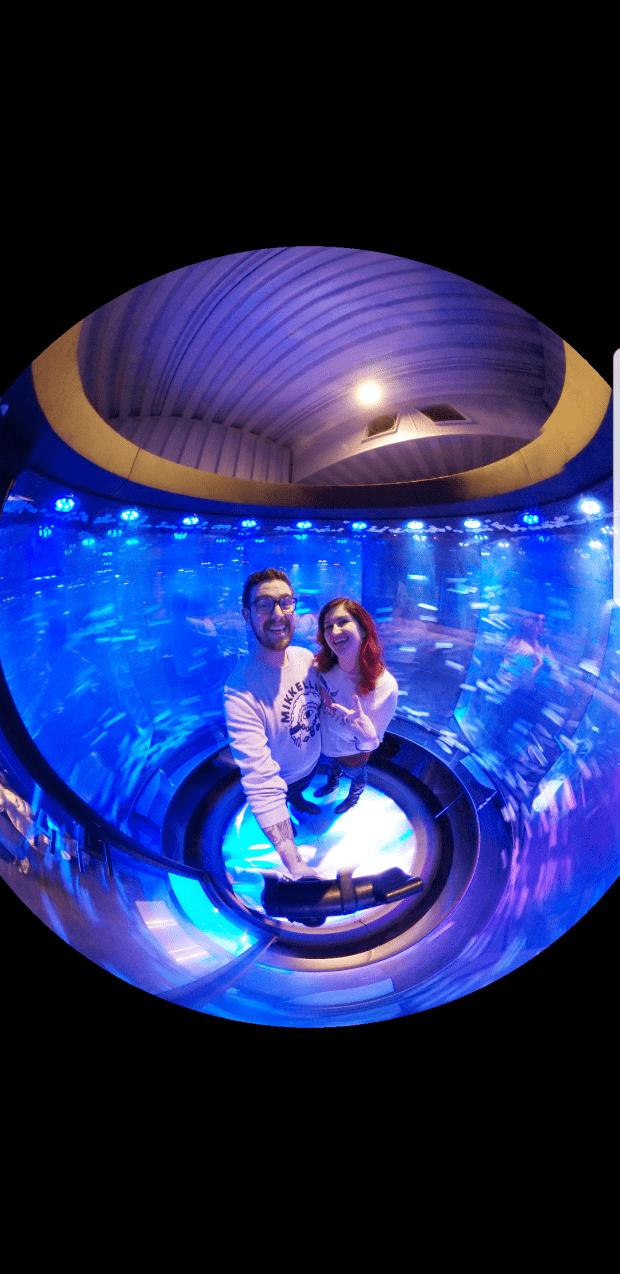 360 Degree Photo at Samsung Galaxy Tokyo Exhibit