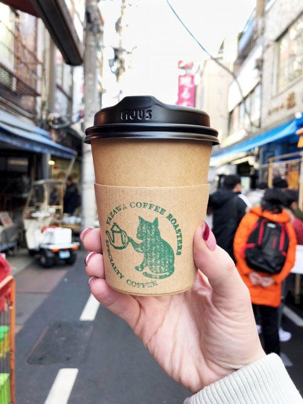 Coffee at Tsukiji Market