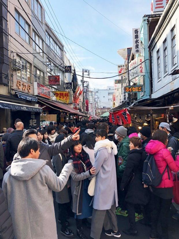 Tsukiji Market in the Morning
