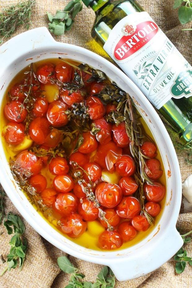 Quick Cherry Tomato Confit