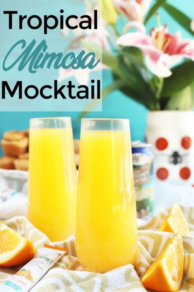 Tropical Mimosa Mocktail