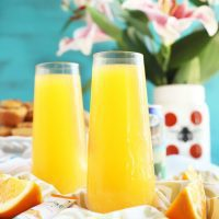 Tropical Mimosa Mocktail