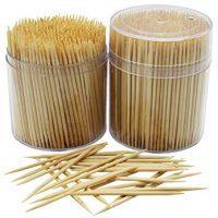 MontoPack Bamboo Wooden Toothpicks