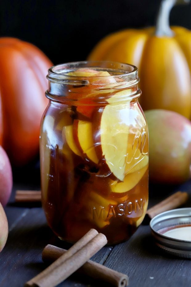 Apple Pie Infused Whiskey