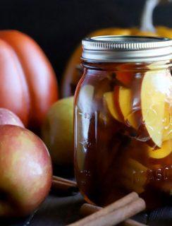 Apple Pie Infused Whiskey