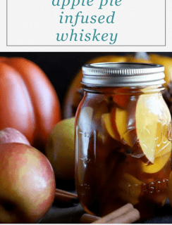 Apple Pie Infused Whiskey Pinterest Picture