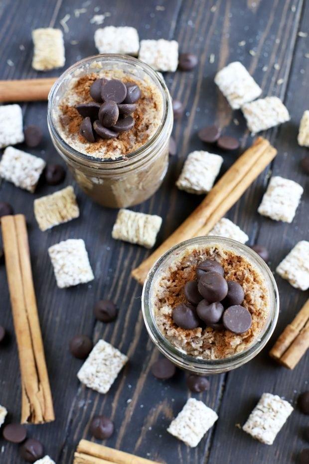 Chocolate Cinnamon Overnight Oats