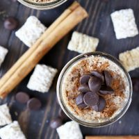Chocolate Cinnamon Overnight Oats