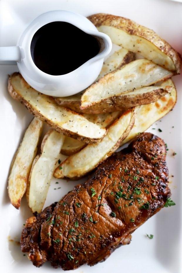 Chili Coffee Rubbed Steak