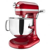 KitchenAid 7-Quart  Pro Line Stand Mixer Candy Apple Red