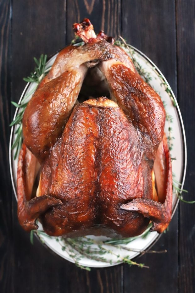 Smoked Beer Brined Turkey