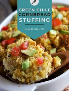 Green Chile Cornbread Stuffing Pinterest Picture