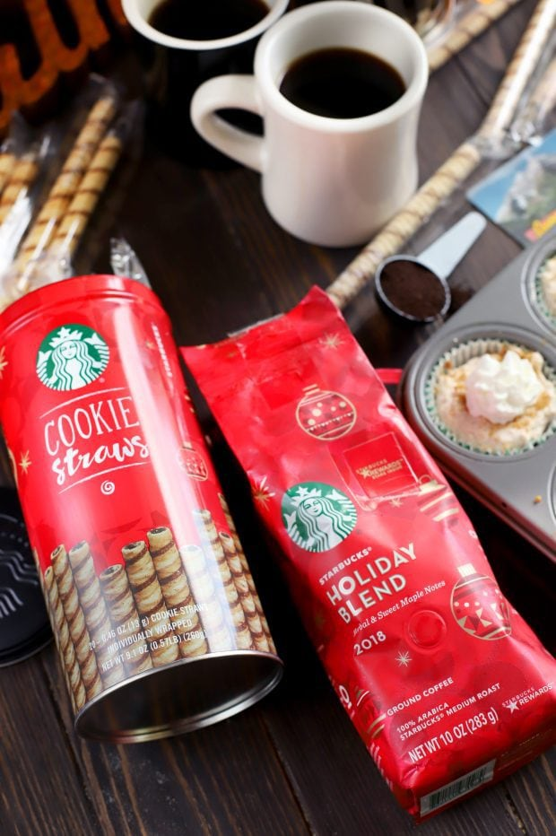 Mini No-Bake Gingerbread Cheesecakes For A Sweet Afternoon Break With Starbucks