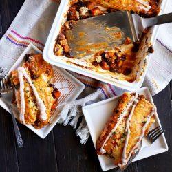 Leftover Thanksgiving Enchiladas