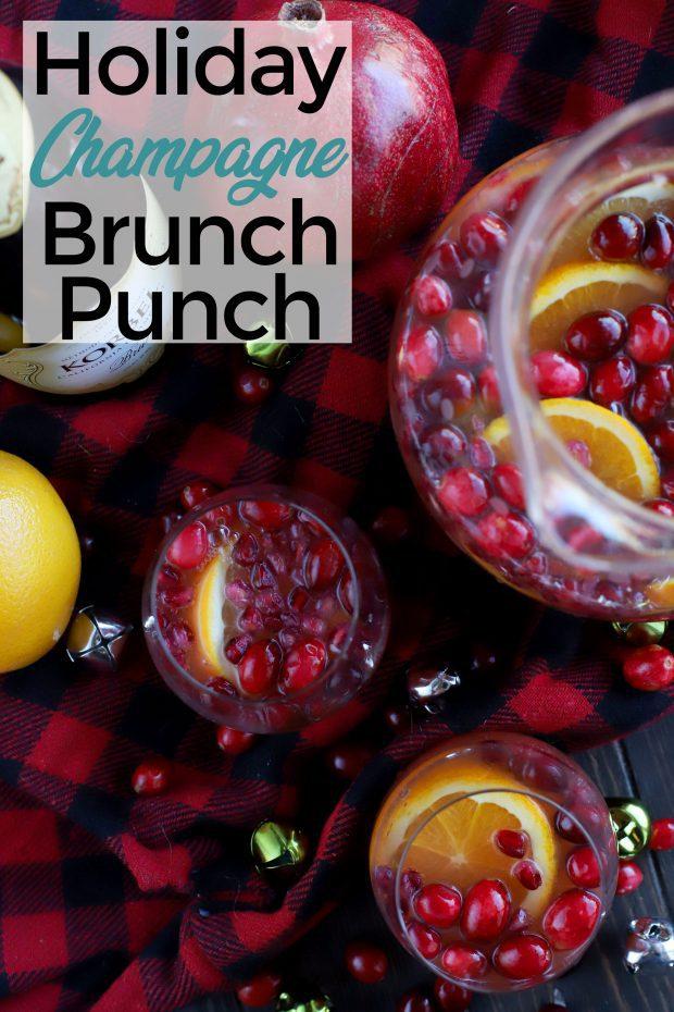 Sparkling Holiday Brunch Punch