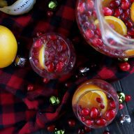 Sparkling Holiday Brunch Punch
