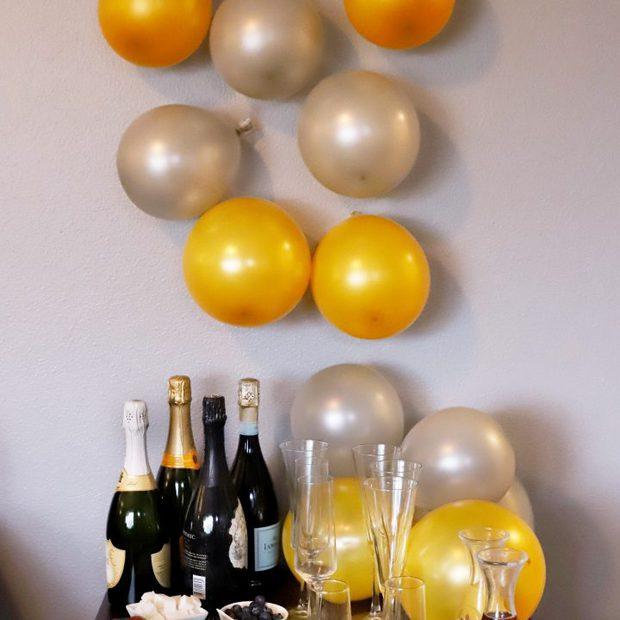 NYE 1-2-3 Easy DIY Decorations