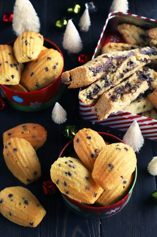 My Two Favorite Base Cookie Recipes Madeleines And Biscotti
