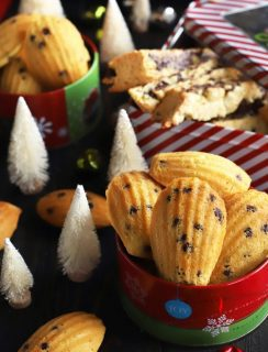 My Two Favorite Base Cookie Recipes Madeleine and Biscotti