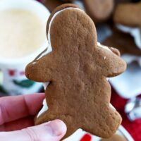 Soft Chewy Gingerbread Cookies With Eggnog Cream Filling