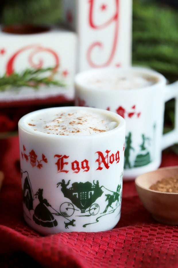 The Best Homemade Eggnog for an old fashioned holiday celebration