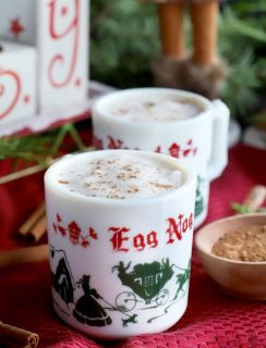 The Best Homemade Eggnog square image