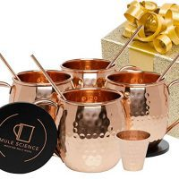 Mule Science Moscow Mule Copper Mugs