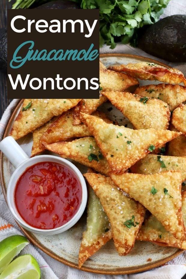 Guacamole Wontons