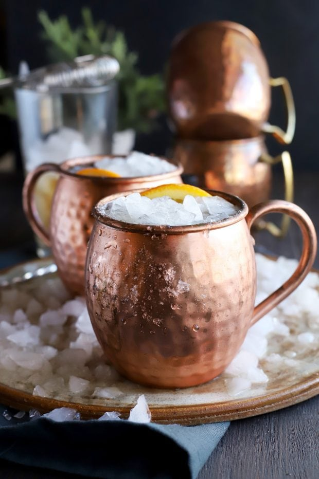 Old Fashioned Moscow Mule mugs
