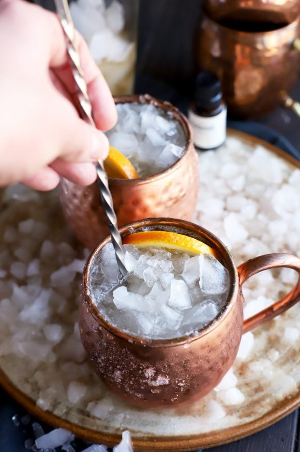 Old Fashioned Moscow Mule