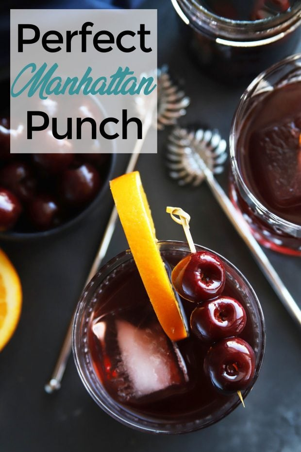 Perfect Manhattan Punch
