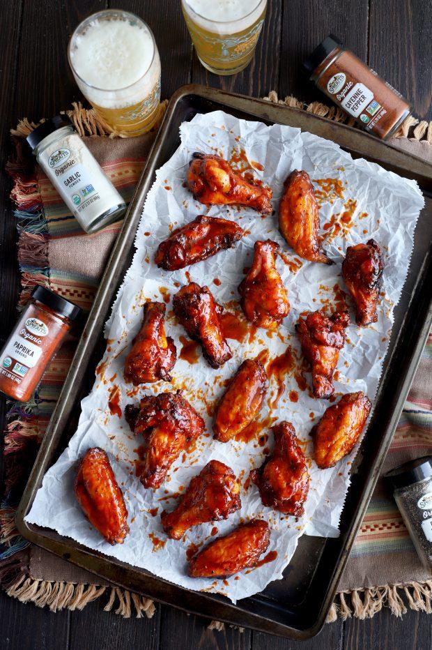 Grilled Cajun Wings