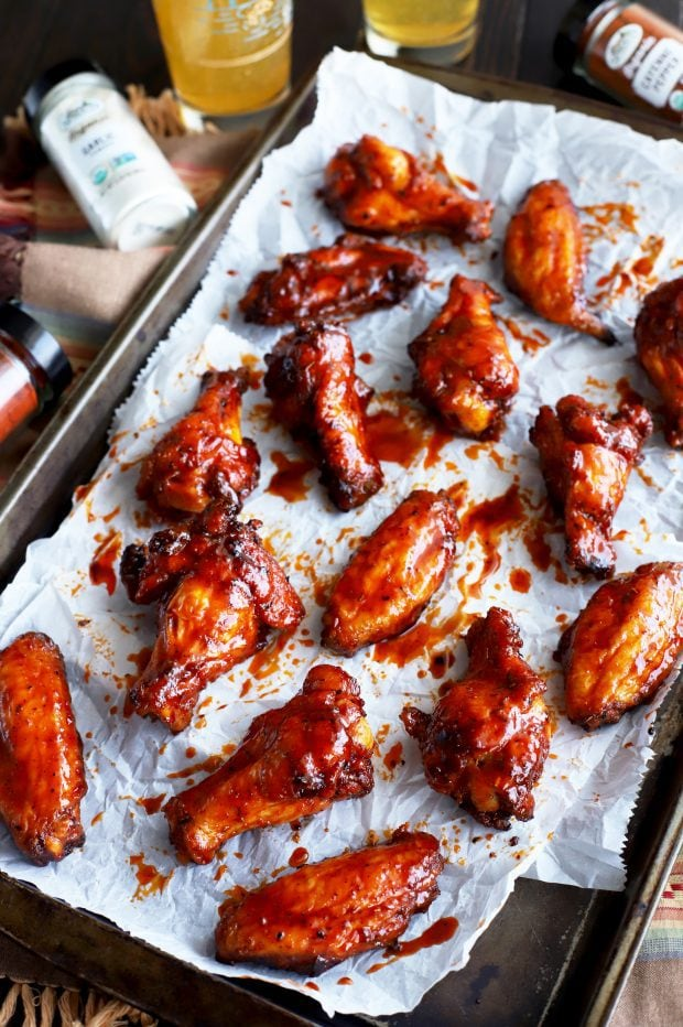 Grilled Cajun Wings