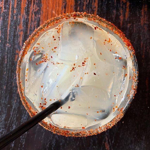 Spicy Margarita at Tamayo in Denver