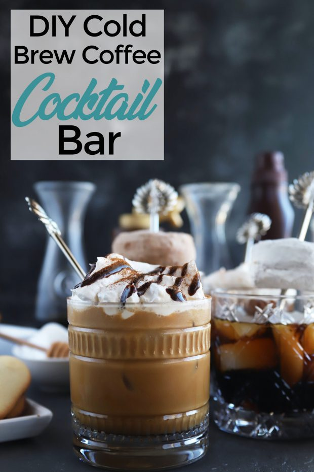 DIY Cold Brew Coffee Cocktail Bar