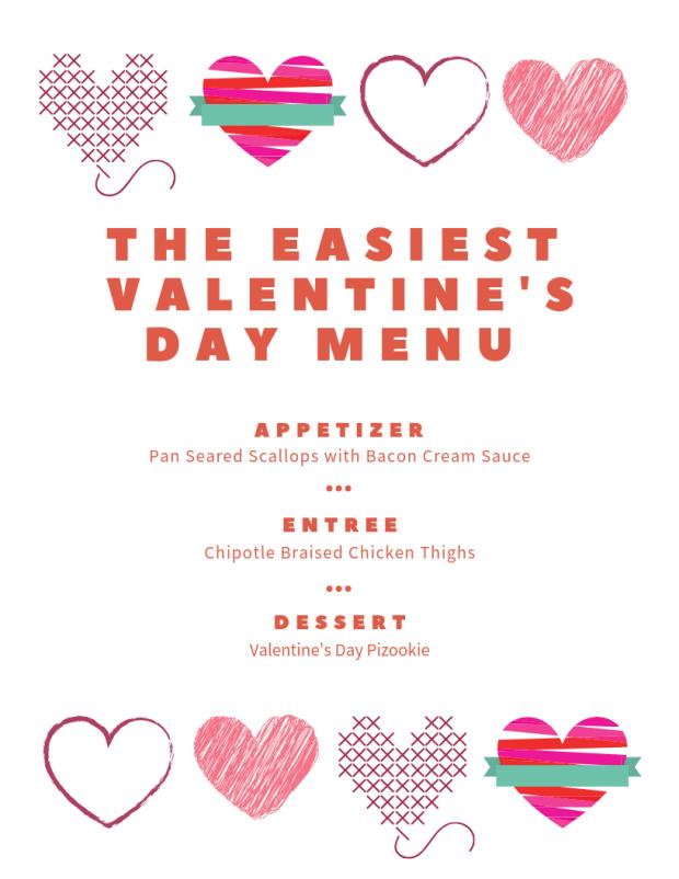 Easiest Valentine's Day Dinner Menu - My Favorite Valentine's Day Menu Ideas