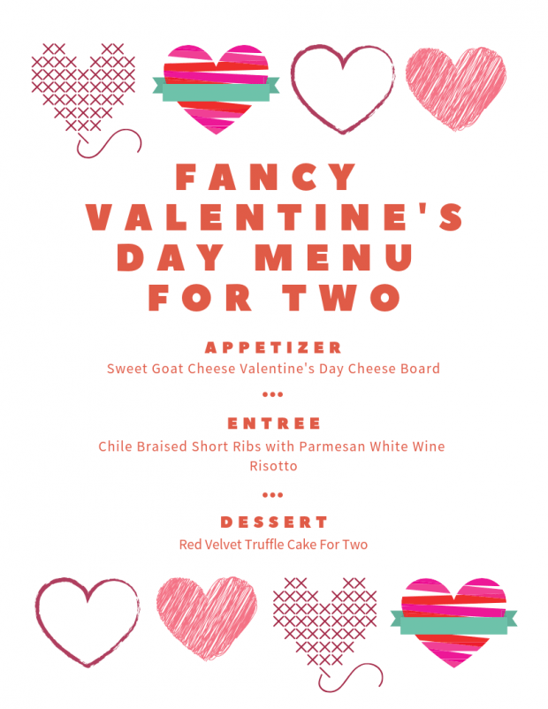 Fancy Valentine's Day Dinner For Two - My Favorite Valentine's Day Menu Ideas