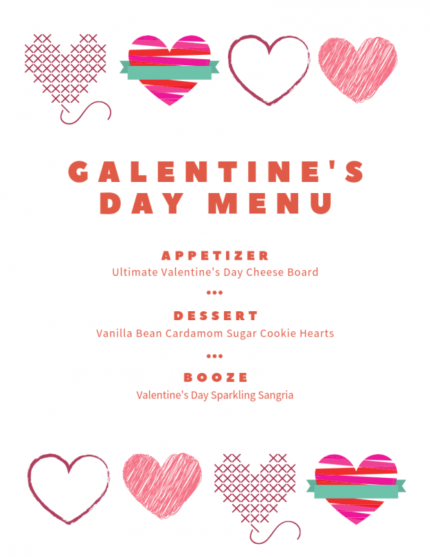 Galentine's Day Menu - My Favorite Valentine's Day Menu Ideas