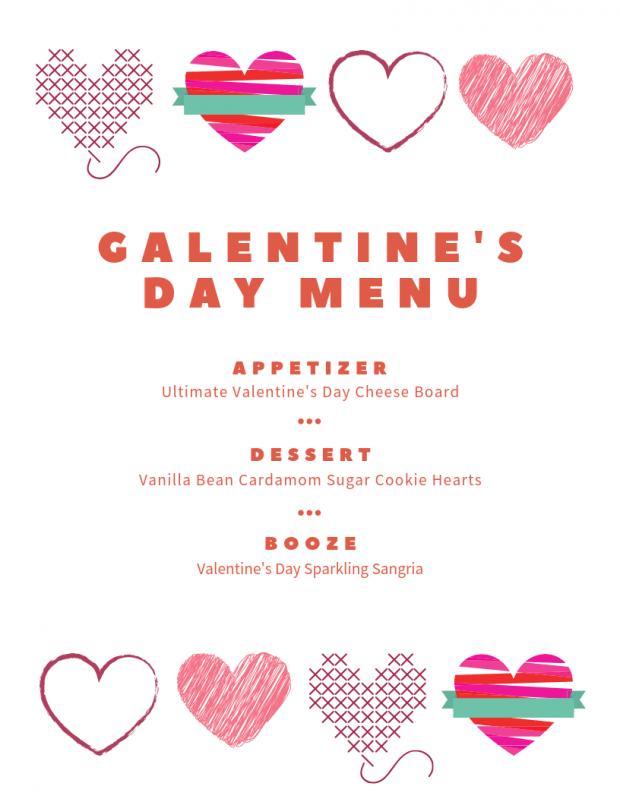 Galentine's Day Menu - My Favorite Valentine's Day Menu Ideas