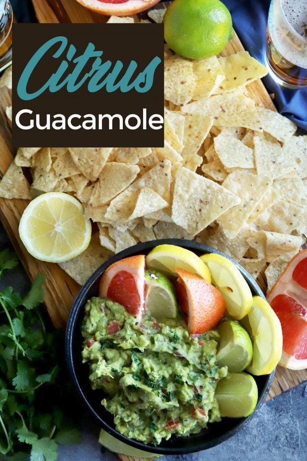 Citrus Guacamole