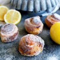 Easy Lemon Sugar Buns