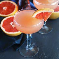 Sparkling Grapefruit Rosé Cocktail