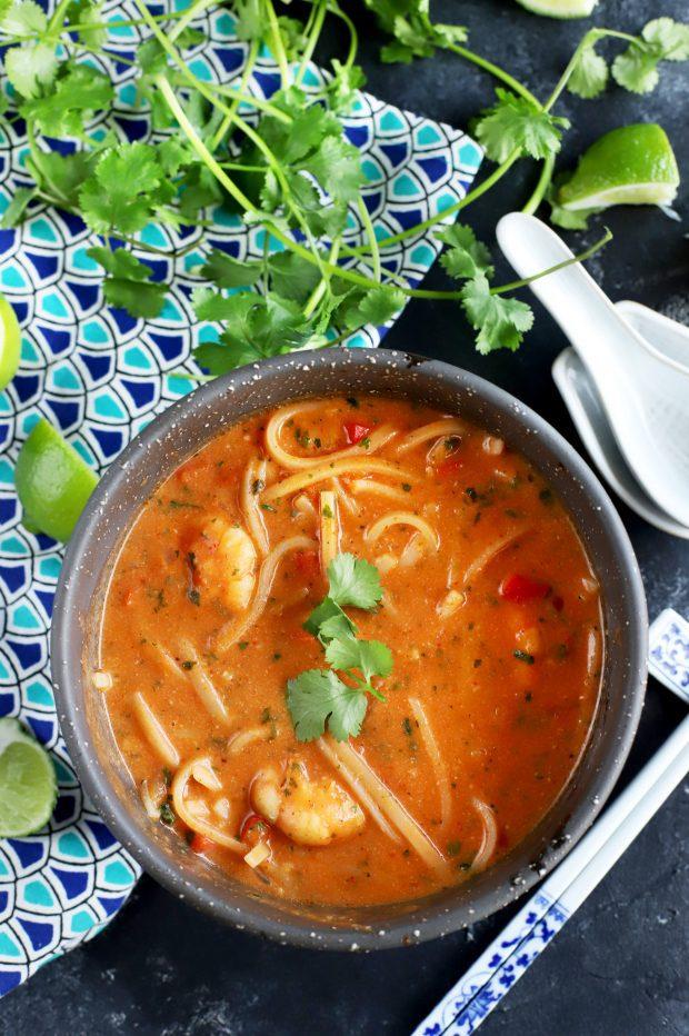 Thai Shrimp Noodle Soup