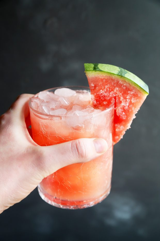 Salted Watermelon Grapefruit Paloma