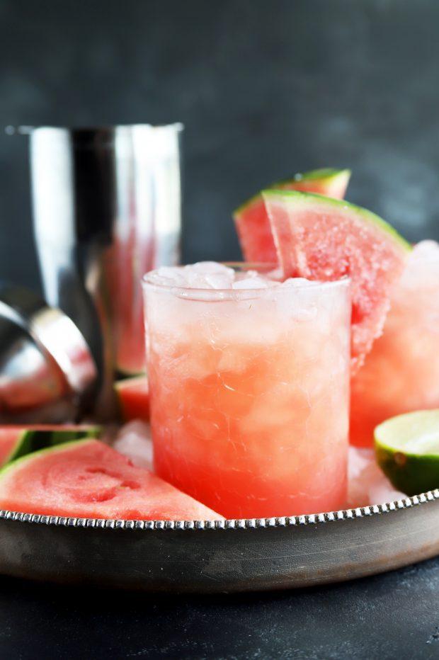 Salted Watermelon Grapefruit Paloma