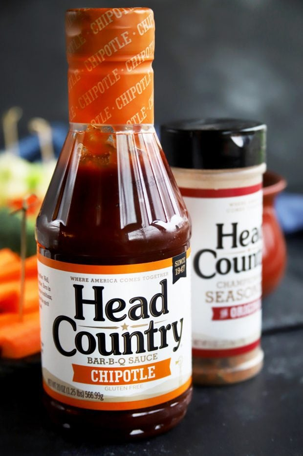 Head Country BBQ Chipotle Sauce for cheese fondue