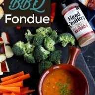 Short Rib BBQ Fondue Recipe Pinterest Image